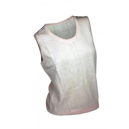Ashworth Ladies Cross Striped Vest