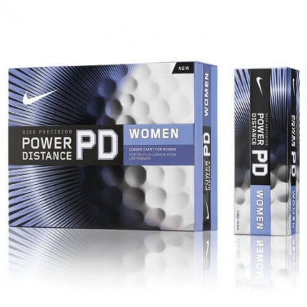 12 Nike Golf PD7 Ladies Golf Balls