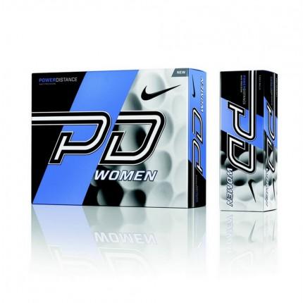 6 x 12 Nike Power Distance 9 Soft Golf Balls White