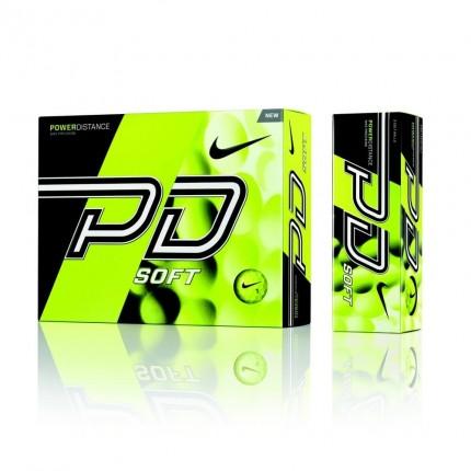 6 x 12 Nike Power Distance 9 Soft Golf Balls Volt