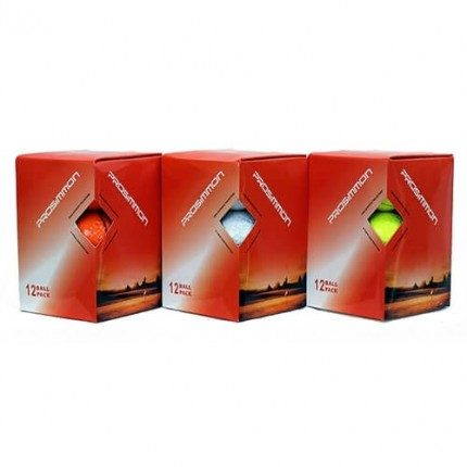 12 Prosimmon Tour Mens New Golf Balls - White