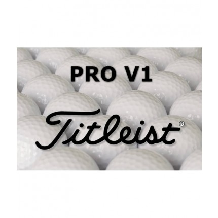 12 Titleist Pro V1 Refinished Lake Balls