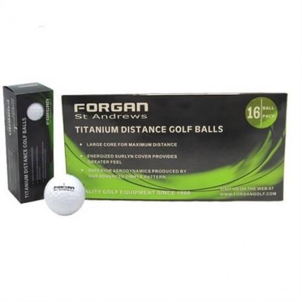16 Forgan Golf Titanium Distance Golf Balls