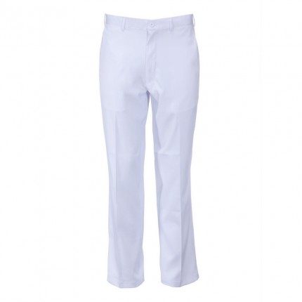 Woodworm DryFit Flat Front Golf Trousers White