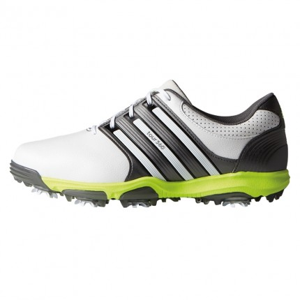 Adidas Tour 360 X WD Golf Shoes White / Dark Silver