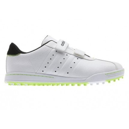 Adidas Adicross II R WD Golf Shoes - White/Black