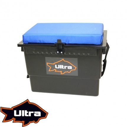 EX-DEMO Ultra Fishing Cushioned Seat Box