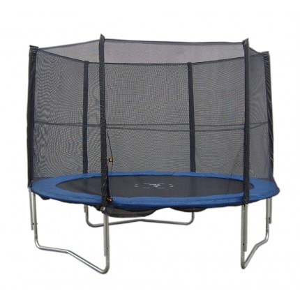 Woodworm 10ft Trampoline with Safety Net Enclosure