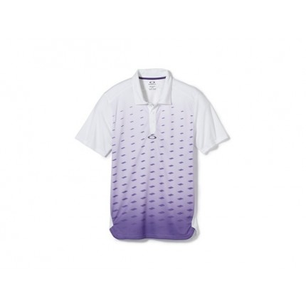 Oakley Short Sleeve Dusk Polo - Royal Purple