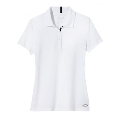 Oakley Golf Ladies Sand Wedge Polo Shirt – White