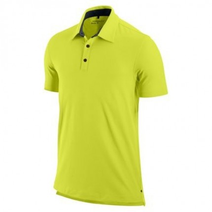 Nike Premium Jersey Polo - Neon Green