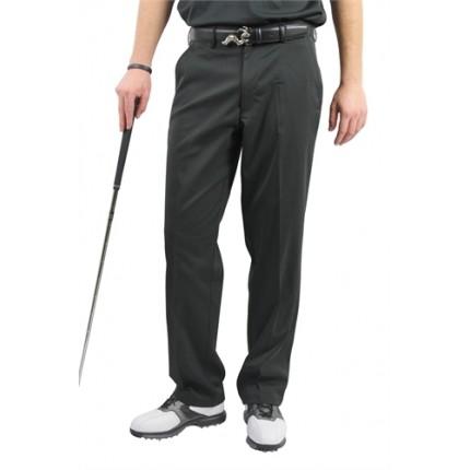 Woodworm DryFit Flat Front Golf Trousers Black