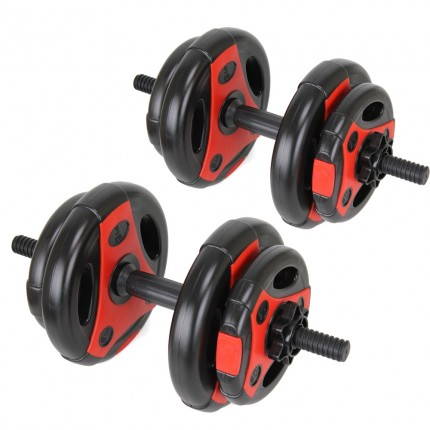 EX-DEMO Confidence Pro 20kg Dumbbell Weights Set