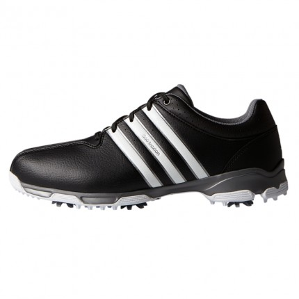 Adidas 360 Traxion WD Golf Shoes Black / White