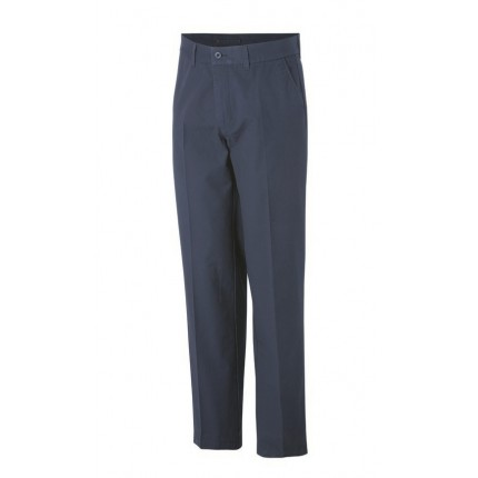 Ashworth Mens Flat Front Solid Trousers
