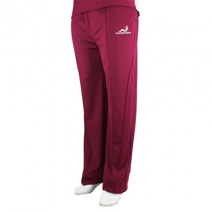 Woodworm Pro Series Training Trousers Maroon