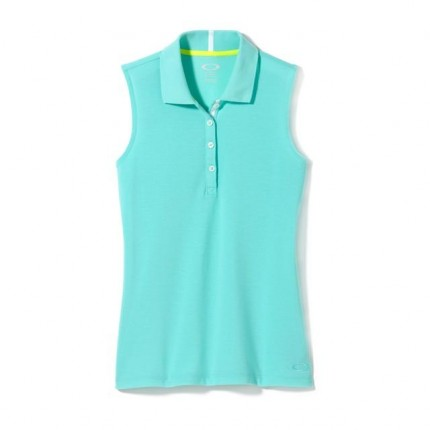 Oakley Ladies Zinger Polo - Seafoam Green