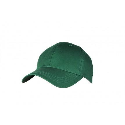 Woodworm Cricket Plain Cotton Cap - Green