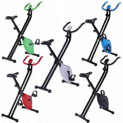 Confidence Fitness Folding Exercise X Bike