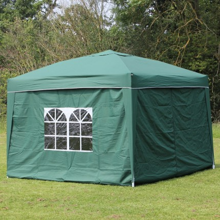 Palm Springs 3x3m (10x10ft) Pop Up Gazebo + Sides