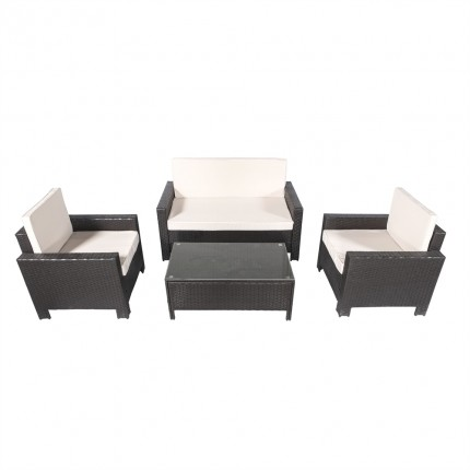 Palm Springs All Seasons Rattan Sofa Set