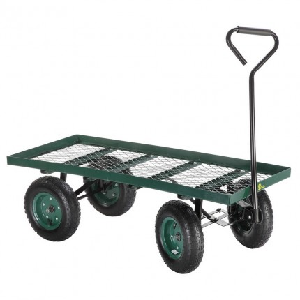 Ex-Demo Palm Springs Flatbed Garden Trolley / Wheelbarrow