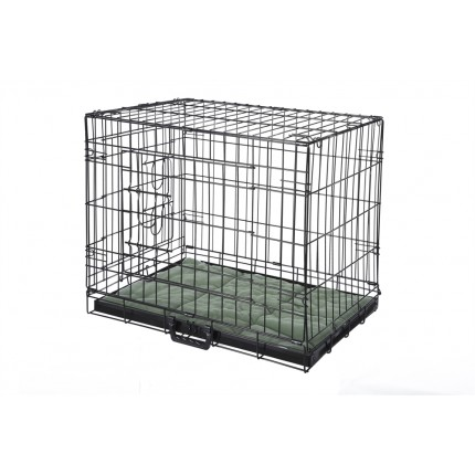 HQ Pet Dog Crate with Bed - Medium