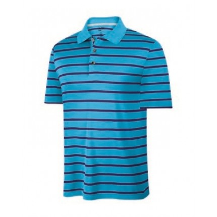 Adidas Mens ClimaCool Stripe Polo - 3 Buttons