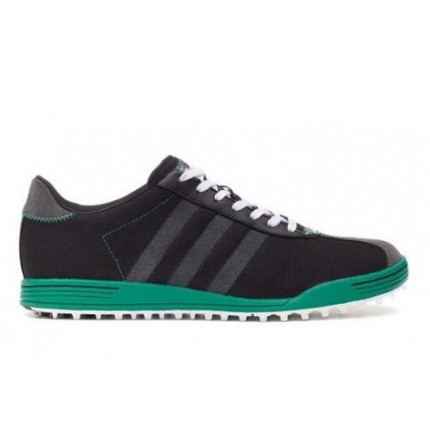 Adidas Adicross II WD Golf Shoes - Black / Green