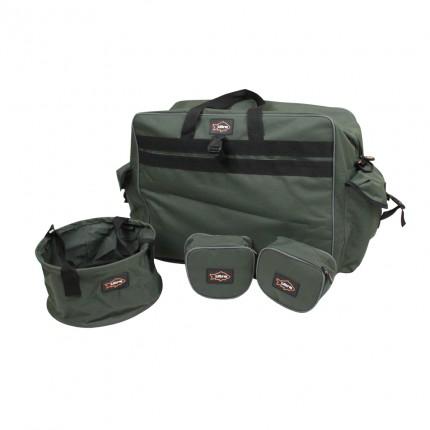 Ultra Fishing Match 5 Piece Luggage Set