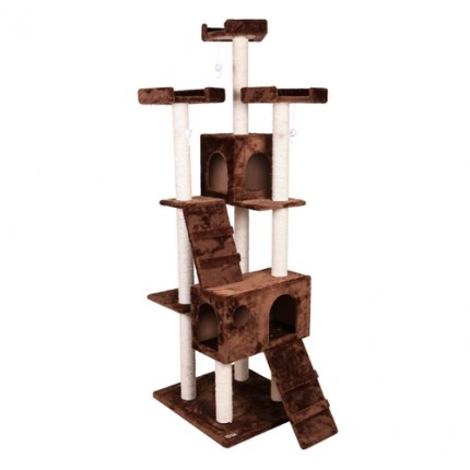 Confidence Pet Presidential Cat Tree - Brown