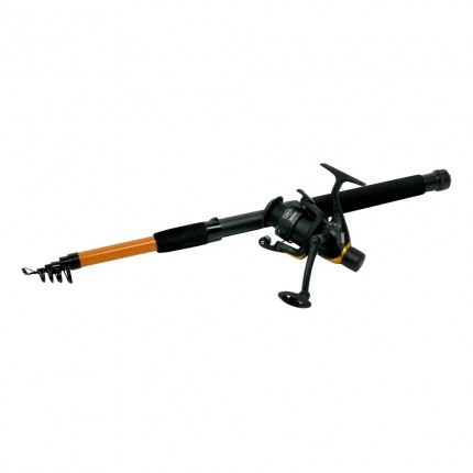 Ultra Fishing 8 Foot Telescopic Rod + Reel + Line