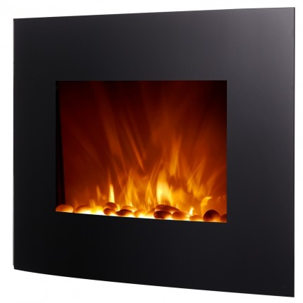 "Homegear 2000W 26"" Wall Mounted Electric Fireplace"