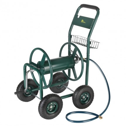 Palm Springs Heavy Duty Garden Hose Reel Cart