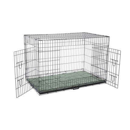 Confidence Pet Dog Crate with Bed - 2XL