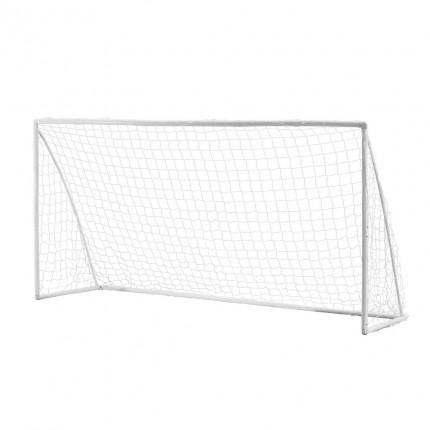 Woodworm 12' x 6' Portable Plastic Football Goal