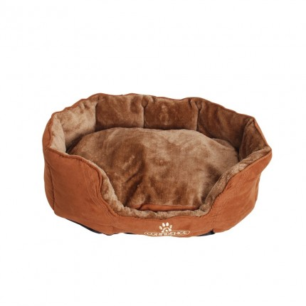 Confidence Pet Oval Pillow Top Dog Bed - Medium