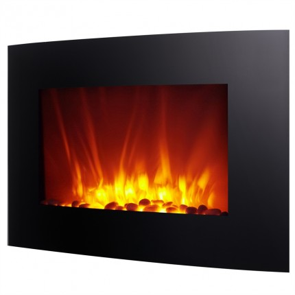 """Homegear 2000W 35"""" Wall Mounted Electric Fireplace"""