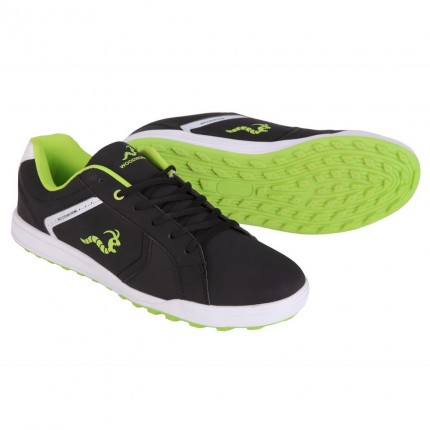 Woodworm Surge V2.0 Golf Shoes - Black / Neon