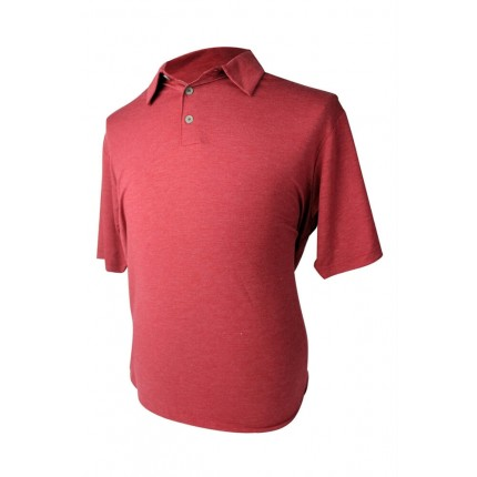 Adidas Mens Rugby Solid Polo Red