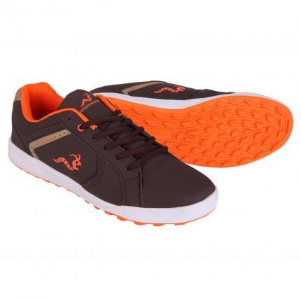 Woodworm Surge V2.0 Golf Shoes - Brown / Orange