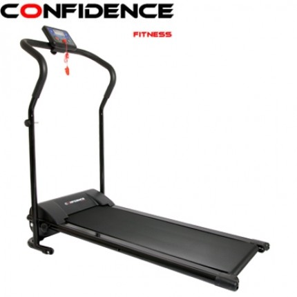 Confidence Power Plus Motorised Treadmill Black