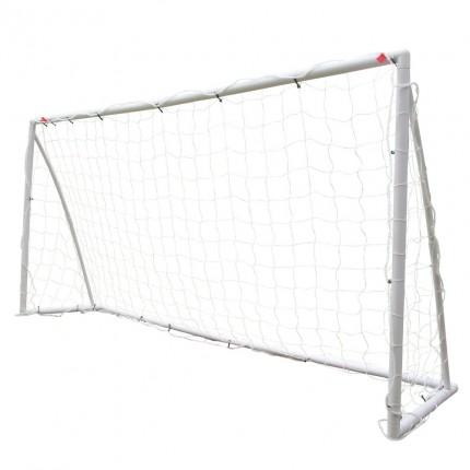 Woodworm 8' x 4' Portable Plastic Football Goal