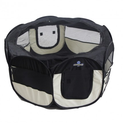 Confidence Pet Soft Fabric Playpen - Small