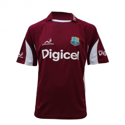 West Indies Replica ODI Training Shirt Medium Boys