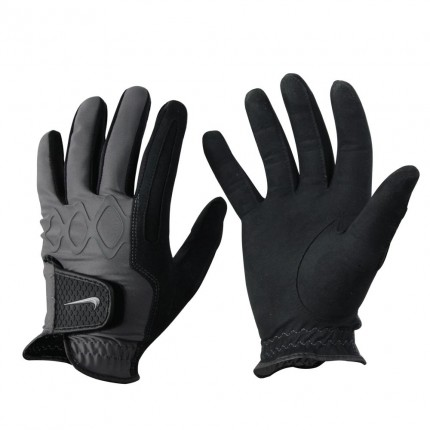 Nike All Weather II Mens Winter Golf Glove Pair - Small