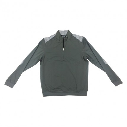 Ashworth Performance Half Zip Wind Jacket