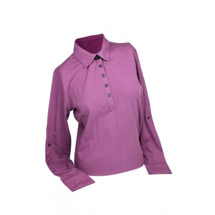 Ashworth Long Sleeve Merino Golf Shirt
