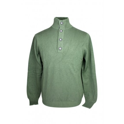 Ashworth Mens Half-Button Sweater