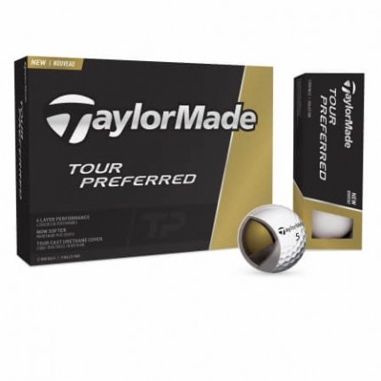 12 TaylorMade Tour Preferred Golf Balls